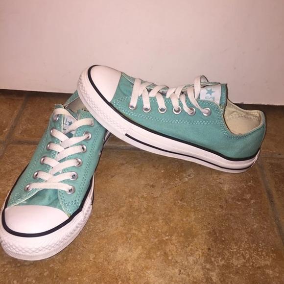 Converse Shoes - Converse Tiffany Blue Men 4.5 Women 6.5 9d0bc791c